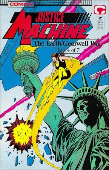Justice Machine (1987) 22-A by Comico