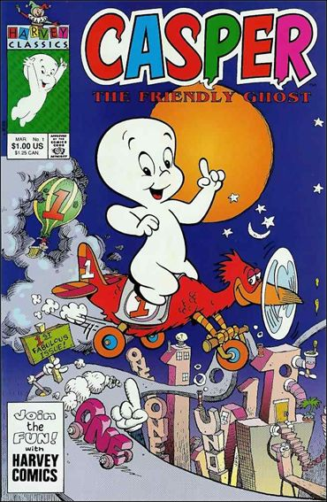 Casper the Friendly Ghost (1991) 1-A by Harvey