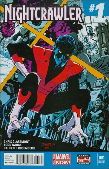 Nightcrawler (2014) 1-D by Marvel