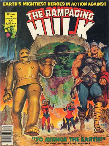 Rampaging Hulk (1977) 9-A by Marvel