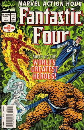 Marvel Action Hour, Featuring The Fantastic Four 1-A
