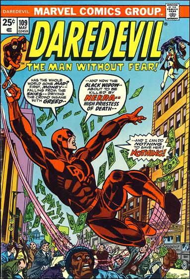 Daredevil (1964) 109-A by Marvel