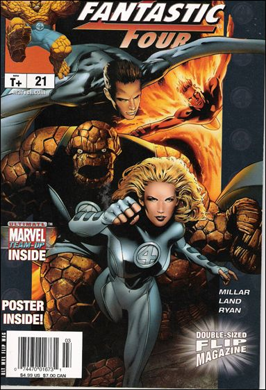 Ultimate Marvel Flip Magazine 21-A by Marvel