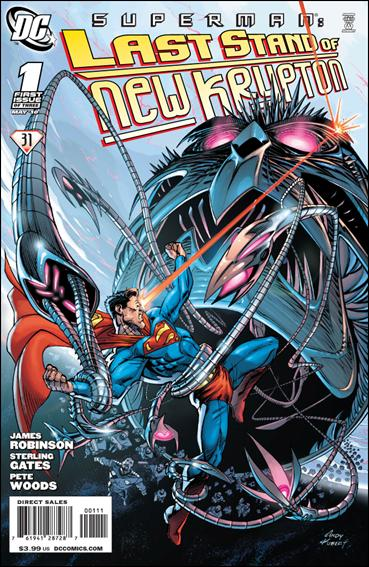 Superman: Last Stand of New Krypton 1-A by DC