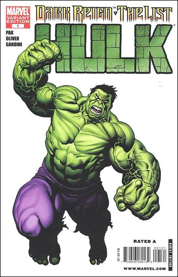 Dark Reign: The List - Hulk 1-B by Marvel