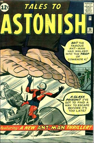 Tales to Astonish (1959) 36-A by Marvel
