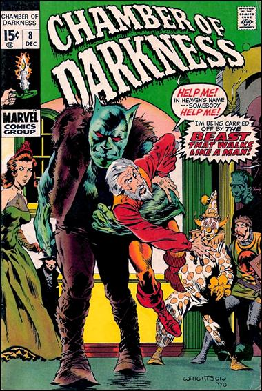 Chamber of Darkness 8-A by Marvel