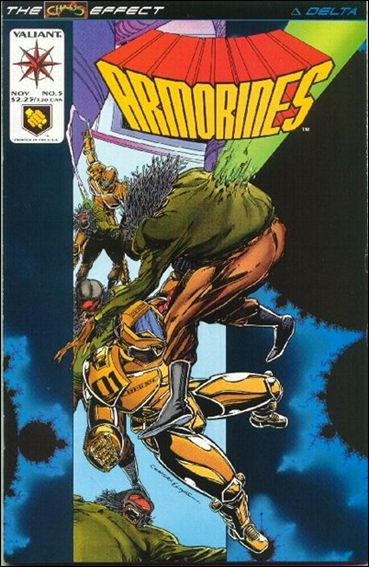 Armorines (1993) 5-A by Valiant