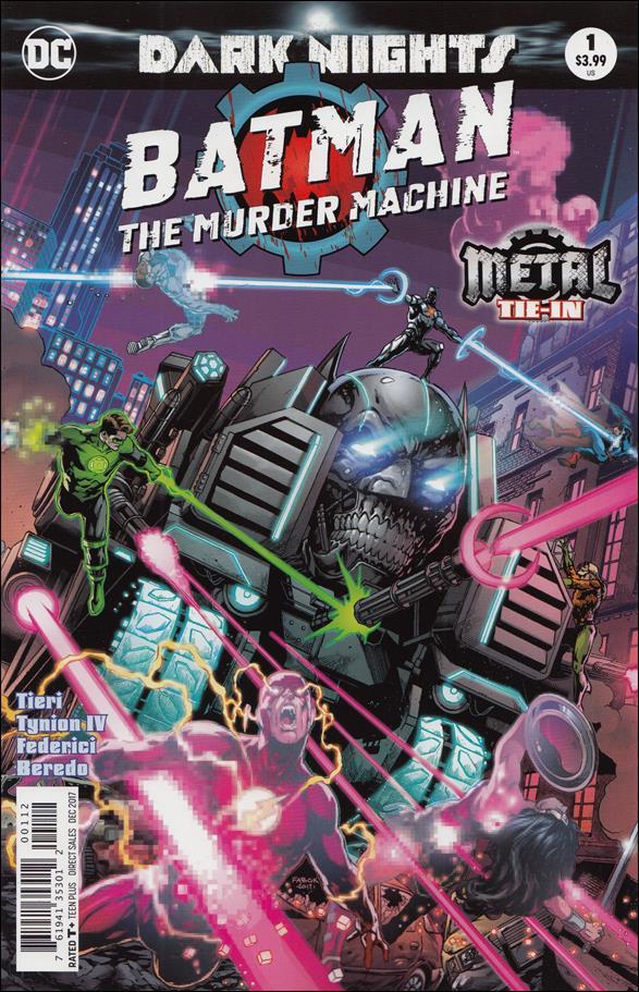 Batman: The Murder Machine 1-B by DC