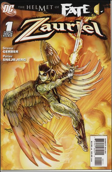 Helmet of Fate: Zauriel 1-A by DC