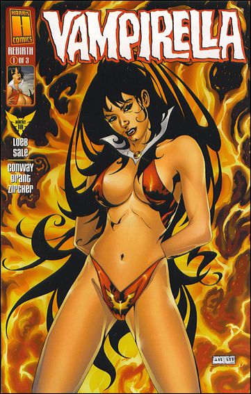 Vampirella Monthly 18-A by Harris