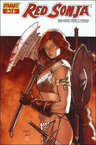 Red Sonja 31-A by Dynamite Entertainment