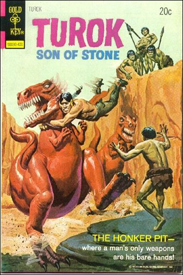 Turok, Son of Stone (1956) 88-A by Gold Key