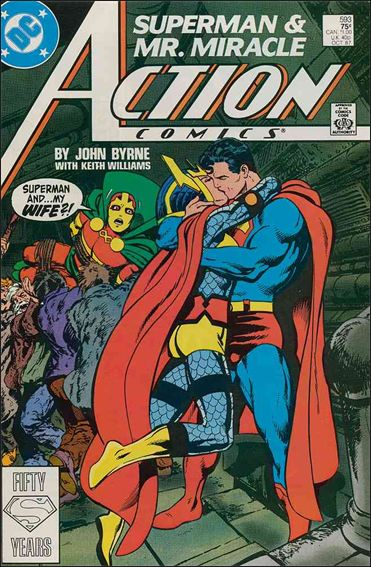 Action Comics (1938) 593-A by DC