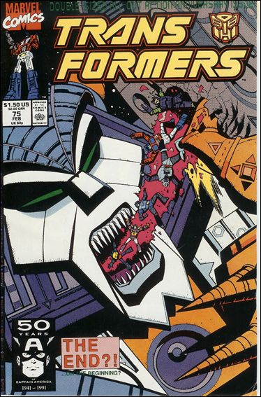Transformers (1984) 75-A by Marvel
