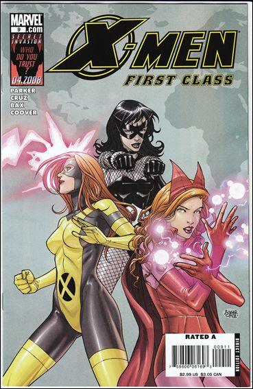 X-Men: First Class (2007) 9-A by Marvel
