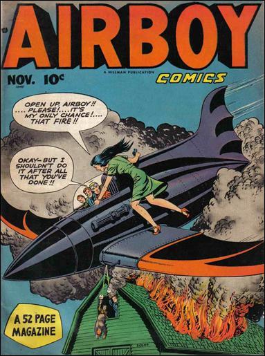 Airboy Comics (1948) 10-A by Hillman