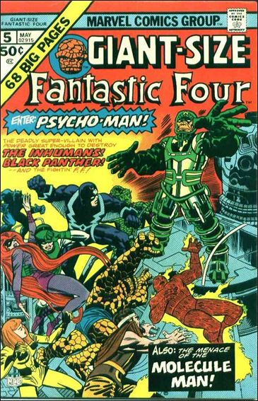 Giant-Size Fantastic Four 5-A by Marvel