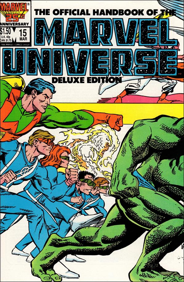 Official Handbook of the Marvel Universe (1985) 15-A by Marvel