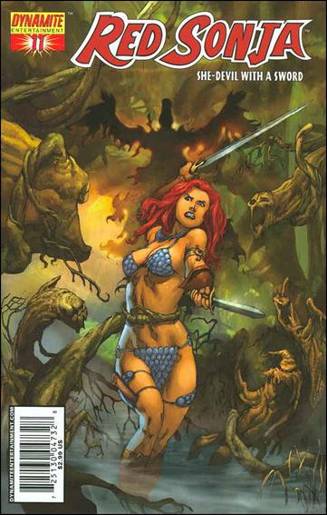 Red Sonja (2005) 11-B by Dynamite Entertainment