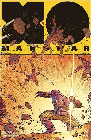 X-O Manowar (2017) 6-C