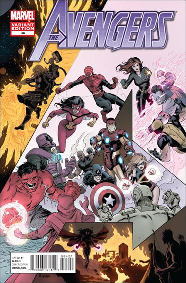 Avengers (2010) 34-B by Marvel