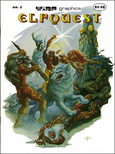 Elfquest (1978) 1-B by Warp Graphics