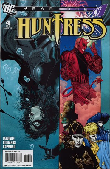 Huntress: Year One 4-A by DC