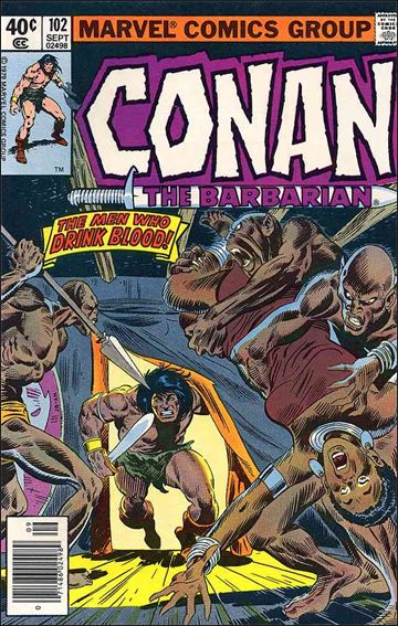 Conan the Barbarian (1970) 102-A by Marvel