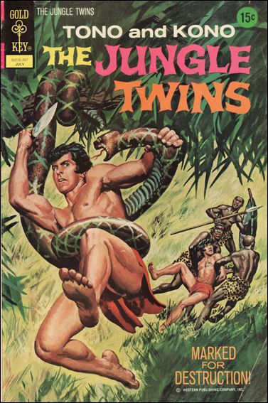 Jungle Twins 2-A by Gold Key