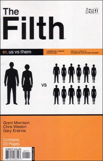 Filth 1-A by Vertigo