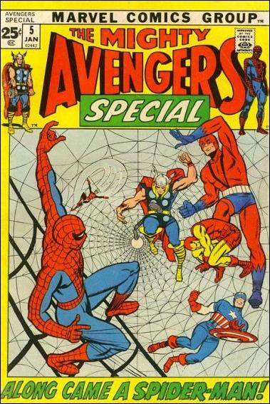 Avengers Annual 5-A by Marvel
