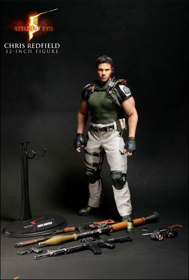 Resident Evil 5 Chris Redfield B S A A Outfit Jan 2010