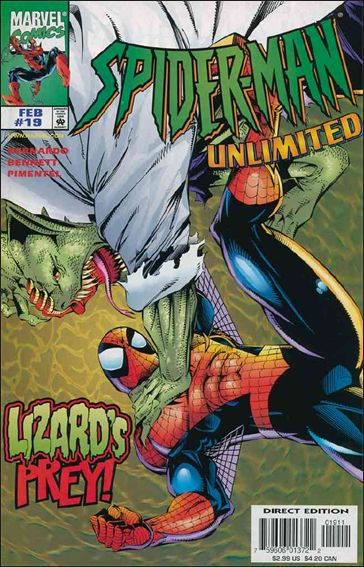 Spider-Man Unlimited (1993) 19-A by Marvel