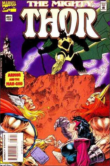 Thor (1966) 483-A by Marvel