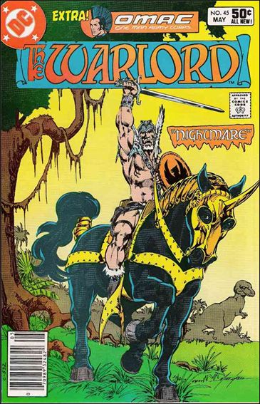 Warlord (1976) 45-A by DC