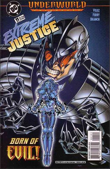 Extreme Justice 11-A by DC