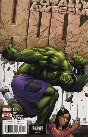 Totally Awesome Hulk 23-A