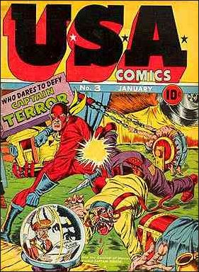 USA Comics 3-A by Marvel