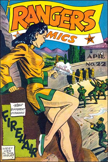 Rangers Comics 22-A by Fiction House Magazines