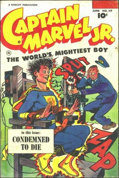Captain Marvel Jr. 119-A by Fawcett