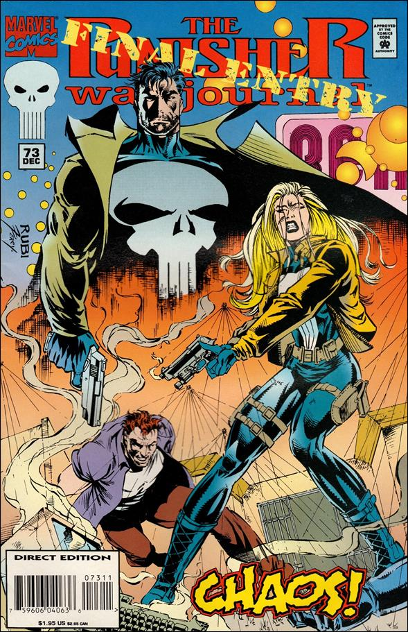 Punisher War Journal (1988) 73-A by Marvel