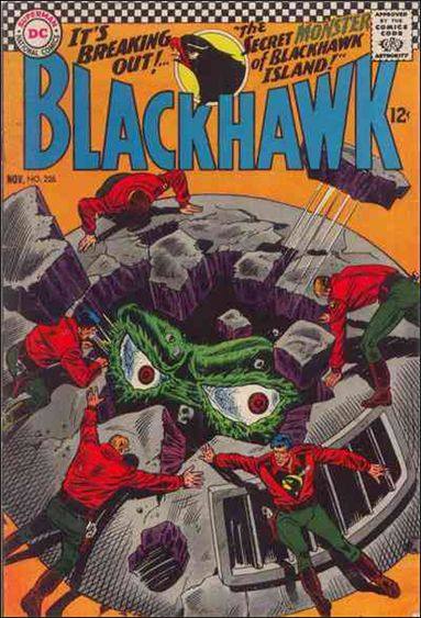 Blackhawk (1944) 226-A by DC