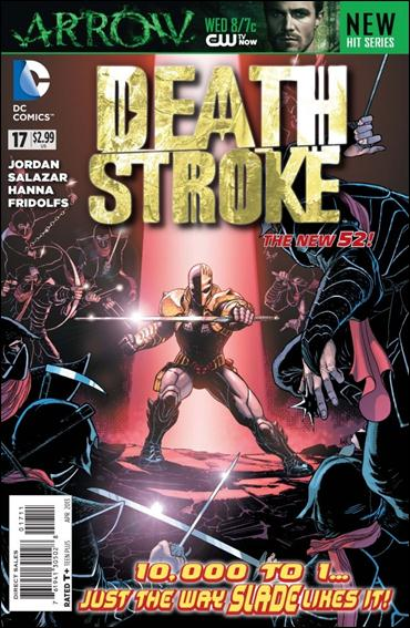 Deathstroke (2011) 17-A by DC