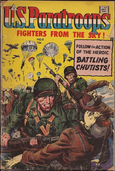 U.S. Paratroops (1958) 8-A by I. W. Enterprises