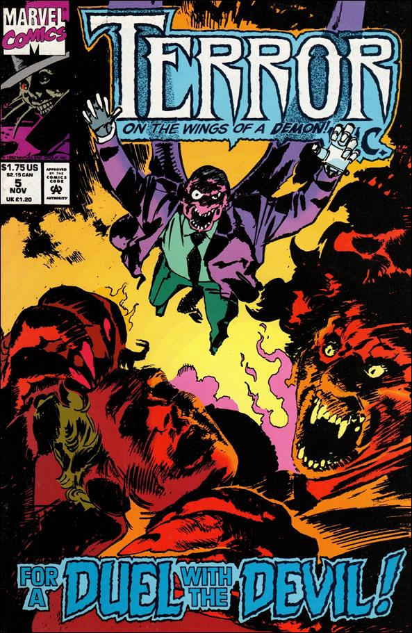Terror, Inc. (1992) 5-A by Marvel