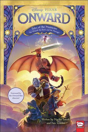Disney/Pixar Onward: Manticore nn-A