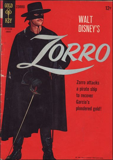 Walt Disney Presents Zorro 3-A by Gold Key