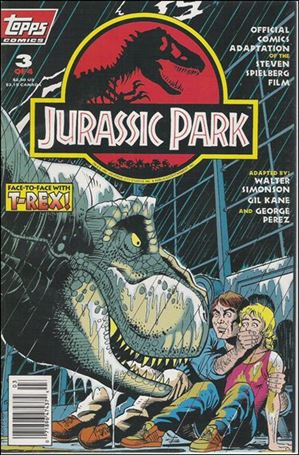 Topps jurassic park comic book value