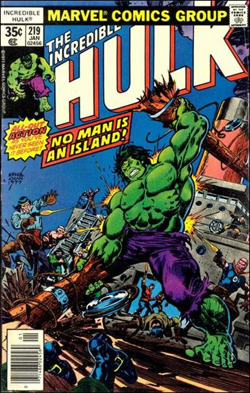 Incredible Hulk (1968) 219-A by Marvel